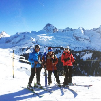 Skiing at Grand Bornand