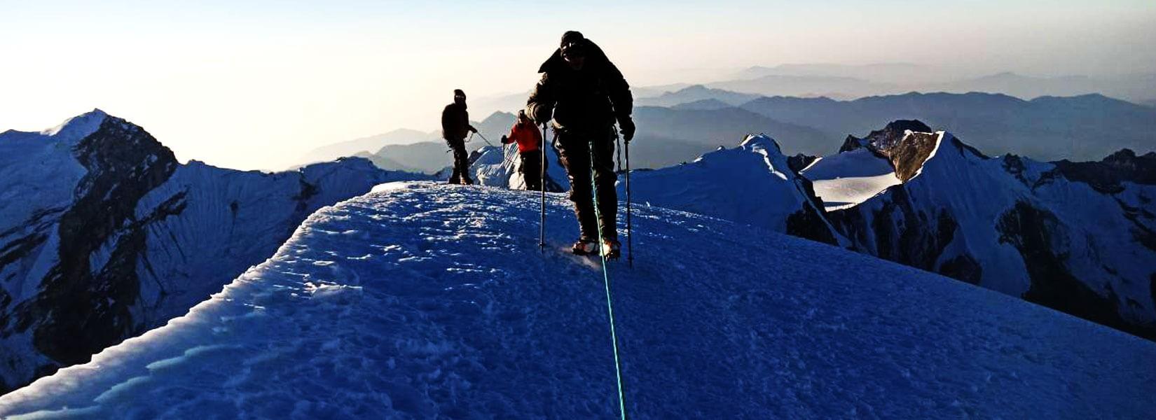 How hard is the climb to Mera Peak