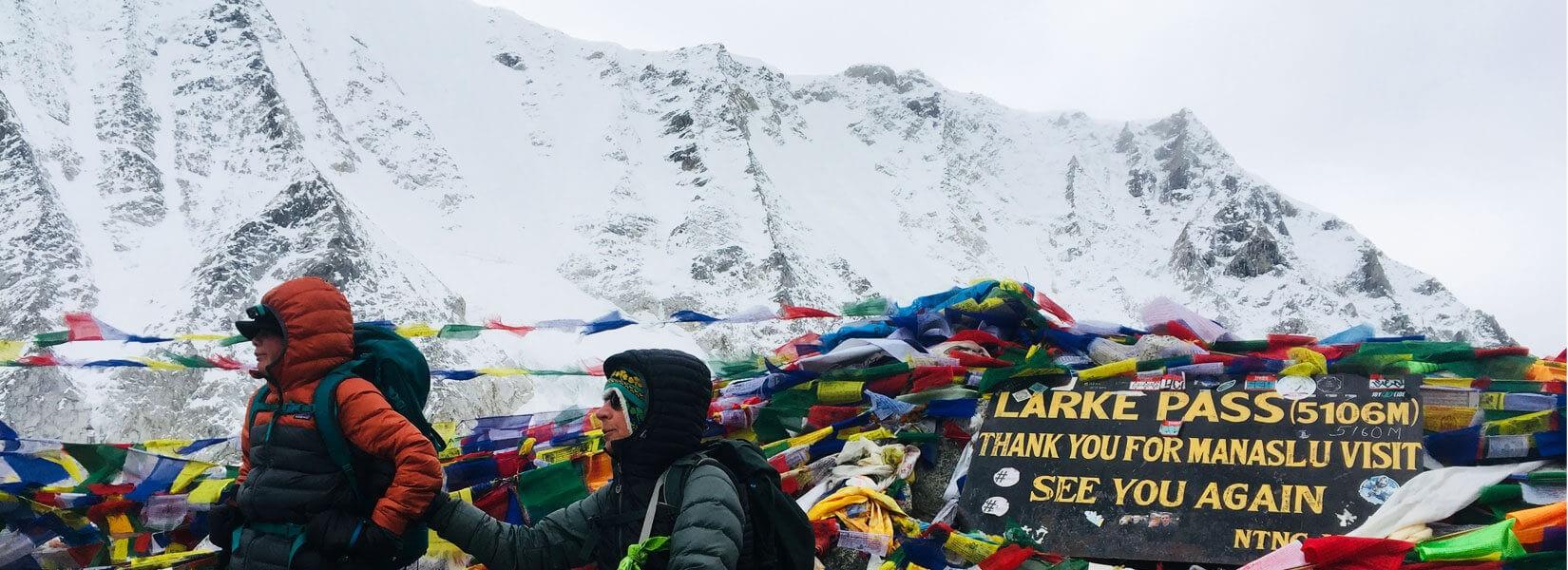 Larke Pass Manaslu Trekking