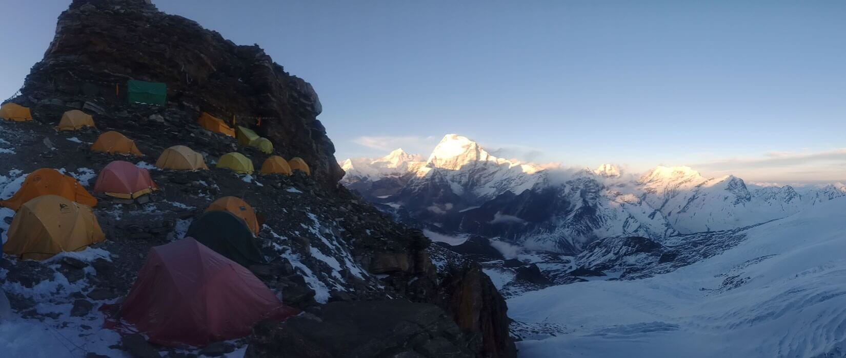 Mera Peak High Camp View