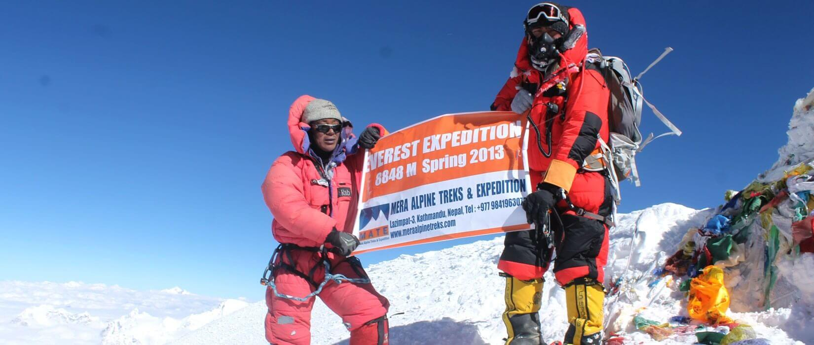 Top of the World Mount Everest