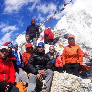 Top of Kala Patthar 5550 Meter