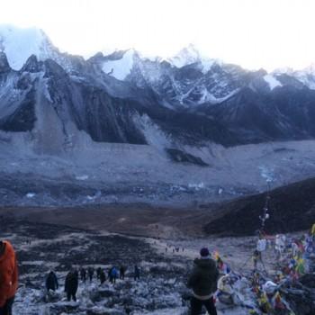 Everest Gokyo Cho La Pass Trekking View